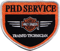 phd-service-embroidered-patch